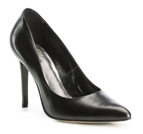 Damenschuhe, schwarz, 83-D-200-1-35, Bild 1