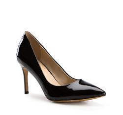 Damenschuhe, schwarz, 84-D-503-1-41, Bild 1