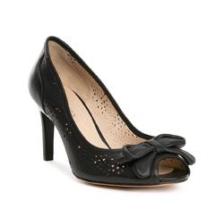 Damenschuhe, schwarz, 84-D-504-1-38, Bild 1