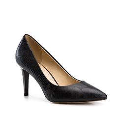 Damenschuhe, schwarz, 84-D-513-8-36, Bild 1
