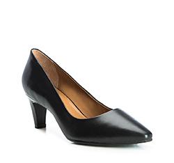 Damenschuhe, schwarz, 84-D-703-1-36, Bild 1