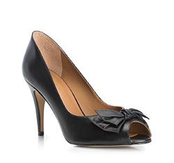 Damenschuhe, schwarz, 84-D-715-1-37, Bild 1