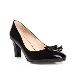 Damenschuhe, schwarz, 84-D-851-1-36, Bild 1