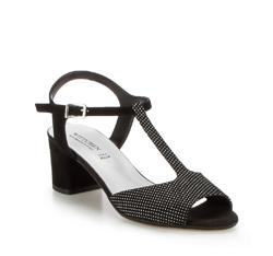 Damenschuhe, schwarz, 86-D-400-1-37, Bild 1