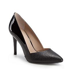 Damenschuhe, schwarz, 86-D-550-1-39, Bild 1