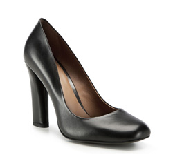 Damenschuhe, schwarz, 86-D-651-1-38, Bild 1