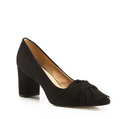 Damenschuhe, schwarz, 86-D-709-1-41, Bild 1