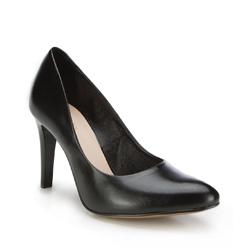 Damenschuhe, schwarz, 87-D-207-1-41, Bild 1