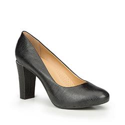 Damenschuhe, schwarz, 87-D-707-1-37, Bild 1