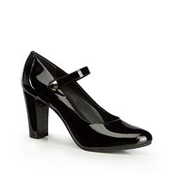 Damenschuhe, schwarz, 87-D-709-1-40, Bild 1