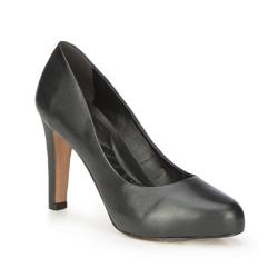 Damenschuhe, schwarz, 87-D-753-1-36, Bild 1