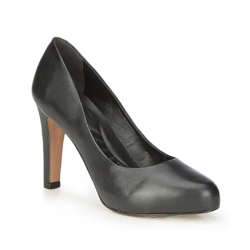 Damenschuhe, schwarz, 87-D-753-1-39, Bild 1