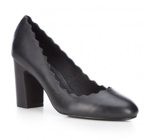 Damenschuhe, schwarz, 87-D-922-1-35, Bild 1