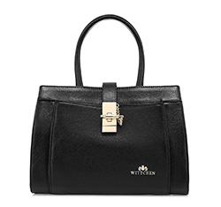 Damentasche, schwarz, 85-4E-357-1, Bild 1