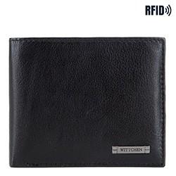 Brieftasche, schwarz-dunkelblau, 26-1-426-1N, Bild 1