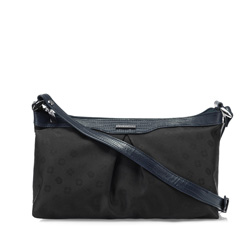 Damentasche, schwarz-dunkelblau, 85-4E-917-17J, Bild 1