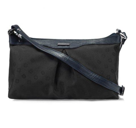 Damentasche, schwarz-dunkelblau, 85-4E-917-13J, Bild 1