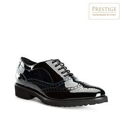 Frauen Schuhe, schwarz-dunkelblau, 81-D-110-1-39_5, Bild 1