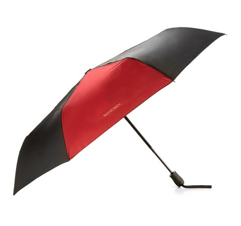 Regenschirm, schwarz-dunkelrot, PA-7-162-X2, Bild 1