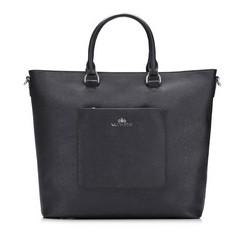 Einkaufstasche, schwarz, 85-4E-405-1, Bild 1