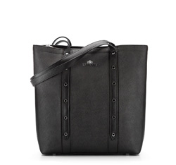 Einkaufstasche, schwarz, 85-4E-441-1, Bild 1