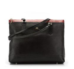 Einkaufstasche, schwarz, 85-4E-459-1, Bild 1