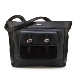 Einkaufstasche, schwarz, 85-4Y-505-1, Bild 1