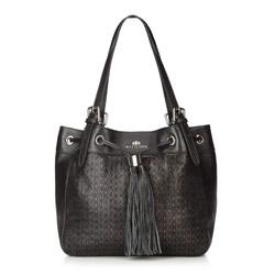 Einkaufstasche, schwarz, 86-4E-373-1, Bild 1