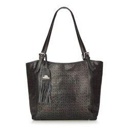 Einkaufstasche, schwarz, 86-4E-374-1, Bild 1
