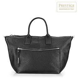 Einkaufstasche, schwarz, 87-4E-018-1, Bild 1