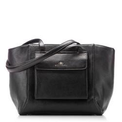 Einkaufstasche, schwarz, 87-4E-200-1, Bild 1