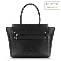 Einkaufstasche, schwarz, 87-4E-207-1, Bild 1