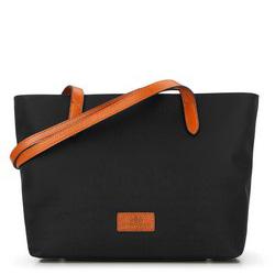Einkaufstasche, schwarz, 87-4E-432-1, Bild 1