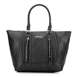 Einkaufstasche, schwarz, 87-4Y-400-1, Bild 1