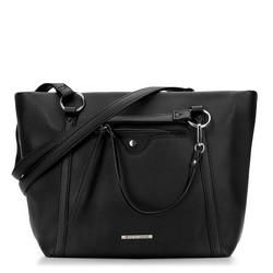 Einkaufstasche, schwarz, 87-4Y-405-1, Bild 1
