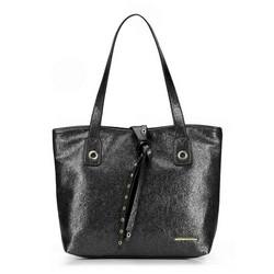 Einkaufstasche, schwarz, 87-4Y-411-1, Bild 1