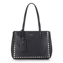 Einkaufstasche, schwarz, 87-4Y-561-1, Bild 1