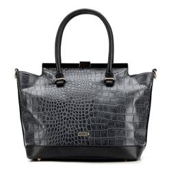 Einkaufstasche, schwarz, 87-4Y-764-1, Bild 1