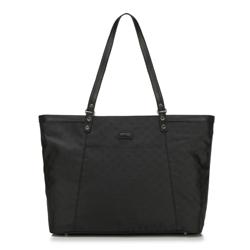 Einkaufstasche, schwarz, 88-4E-908-1, Bild 1