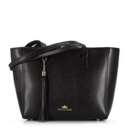 Einkaufstasche, schwarz, 89-4-703-1, Bild 1