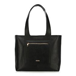 Einkaufstasche, schwarz, 90-4Y-552-1, Bild 1