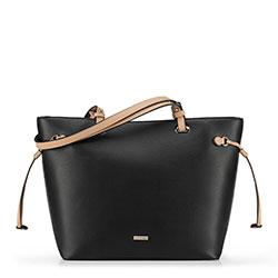 Einkaufstasche, schwarz, 90-4Y-614-1, Bild 1