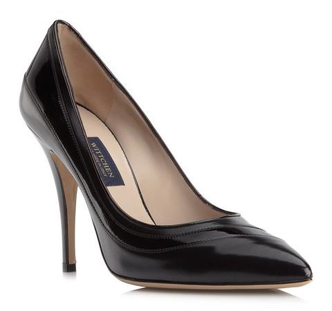 Frauen Schuhe, schwarz, 79-D-703-1-35, Bild 1