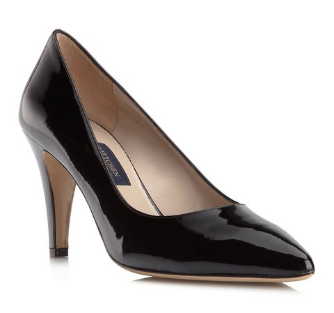 Frauen Schuhe, schwarz, 79-D-708-1-37, Bild 1