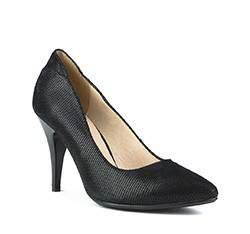 Frauen Schuhe, schwarz, 81-D-516-1-38, Bild 1