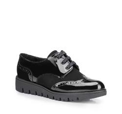 Frauen Schuhe, schwarz, 87-D-303-1-38, Bild 1