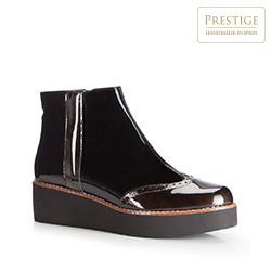 Frauen Schuhe, schwarz, 87-D-460-1-38, Bild 1