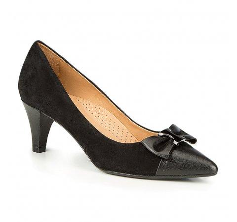Frauen Schuhe, schwarz, 87-D-705-1-35, Bild 1