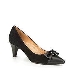 Frauen Schuhe, schwarz, 87-D-705-1-38, Bild 1
