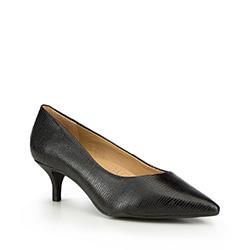 Frauen Schuhe, schwarz, 87-D-706-1-38, Bild 1